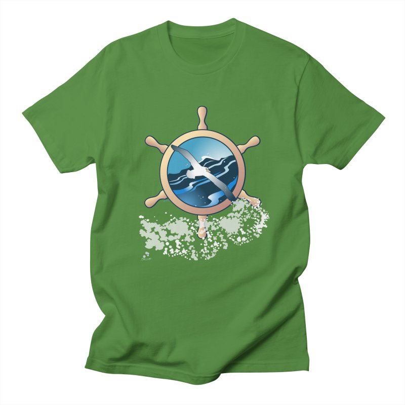 Albatross Women's Unisex T-Shirt by Patricia Howitt's Artist Shop