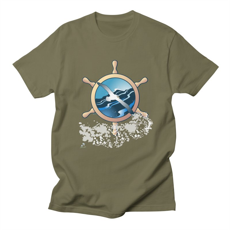 Albatross Women's Regular Unisex T-Shirt by Patricia Howitt's Artist Shop