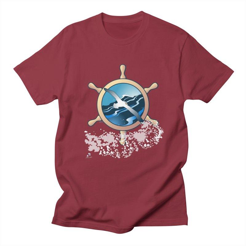 Albatross Men's Regular T-Shirt by Patricia Howitt's Artist Shop