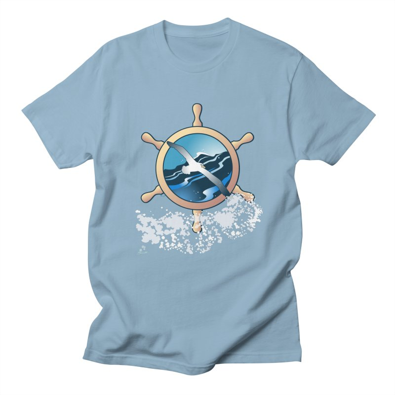 Albatross Men's T-shirt by Patricia Howitt's Artist Shop