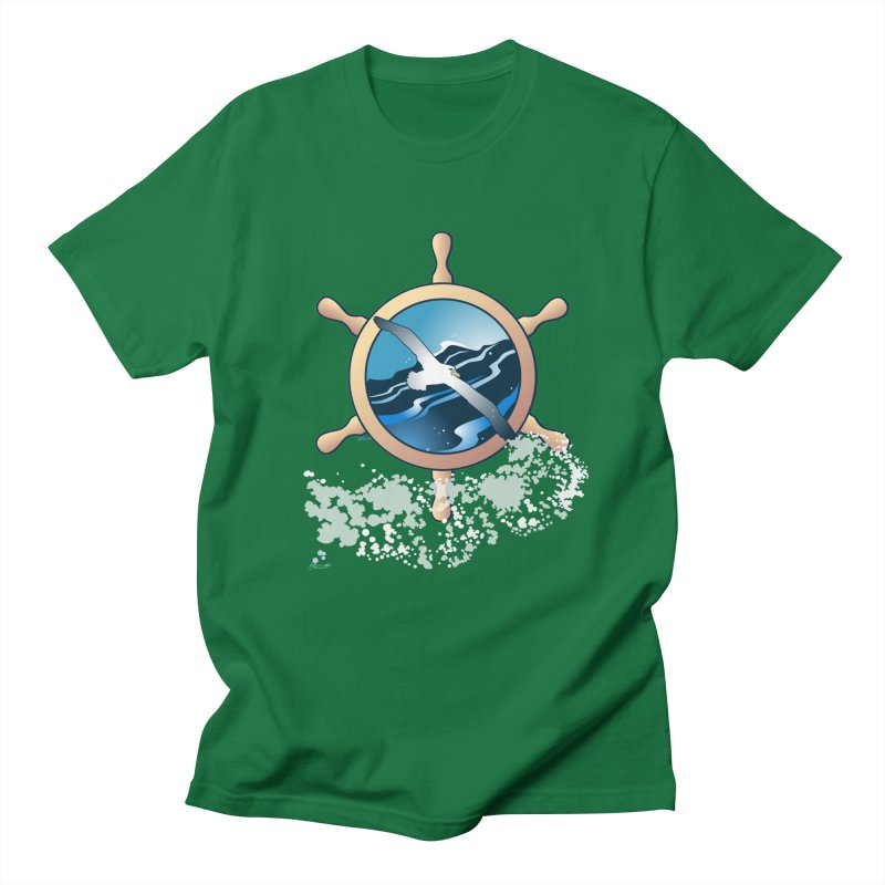 Albatross Women's Unisex T-Shirt by Patricia Howitt's Artist Shop