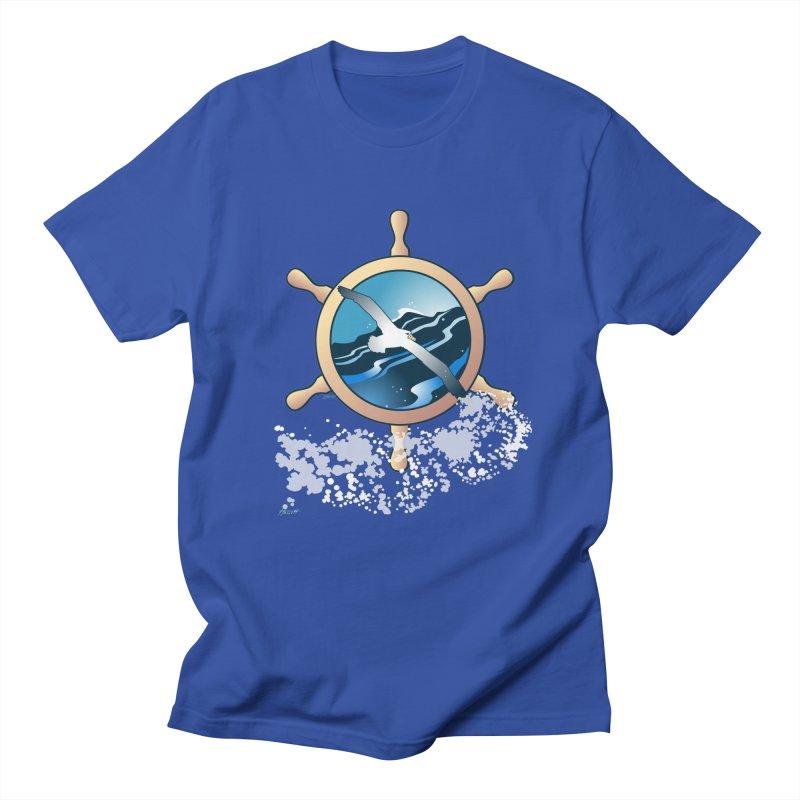 Albatross Women's Regular Unisex T-Shirt by Patricia Howitt's Artist Shop