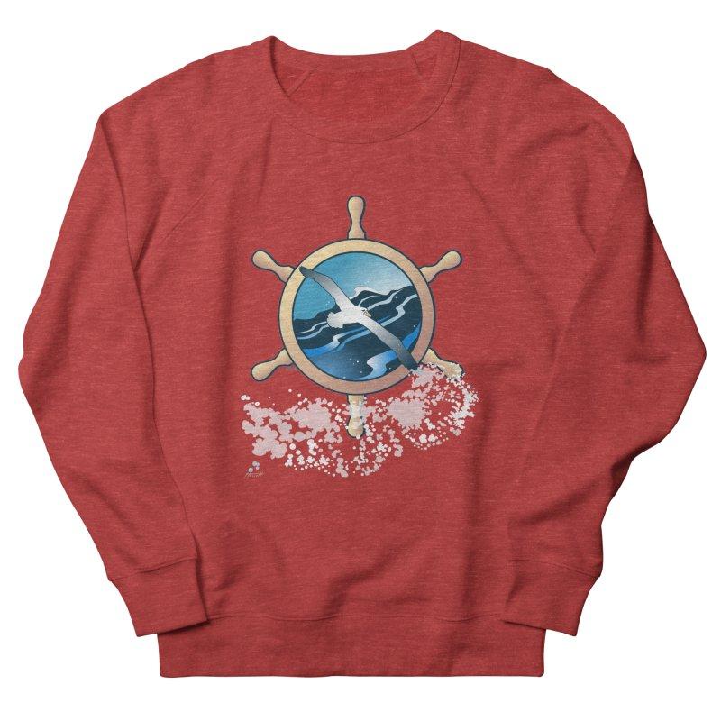 Albatross Women's French Terry Sweatshirt by Patricia Howitt's Artist Shop