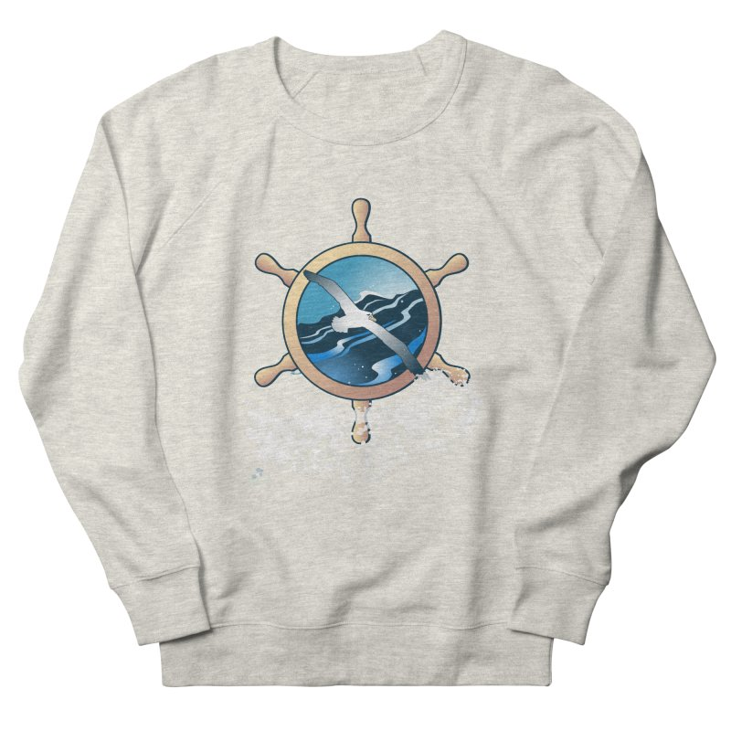 Albatross Men's Sweatshirt by Patricia Howitt's Artist Shop