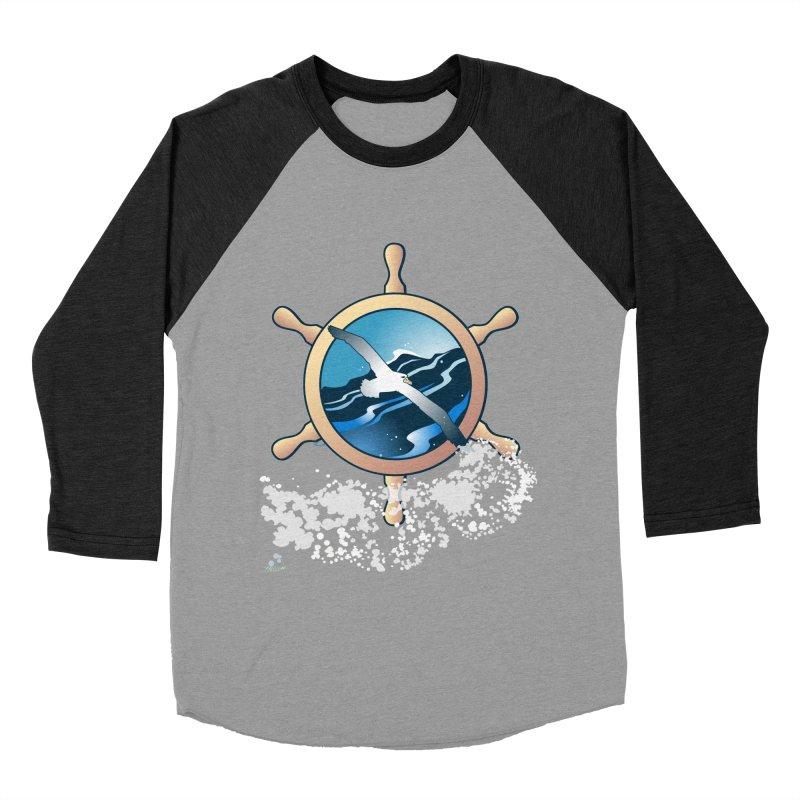 Albatross Women's Baseball Triblend Longsleeve T-Shirt by Patricia Howitt's Artist Shop