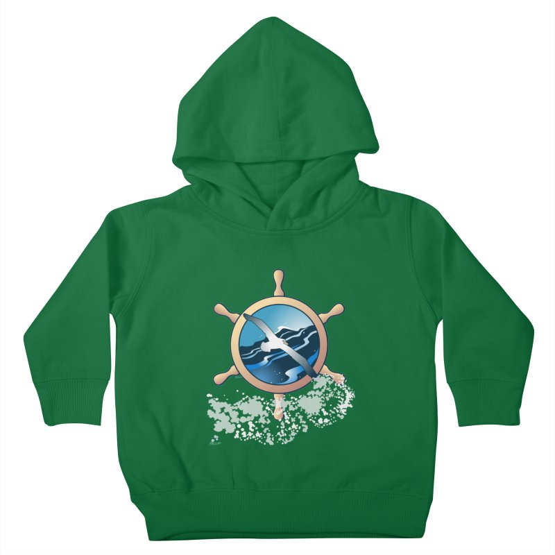 Albatross Kids Toddler Pullover Hoody by Patricia Howitt's Artist Shop