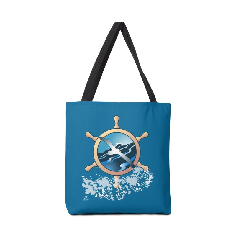 Albatross Accessories Bag by Patricia Howitt's Artist Shop