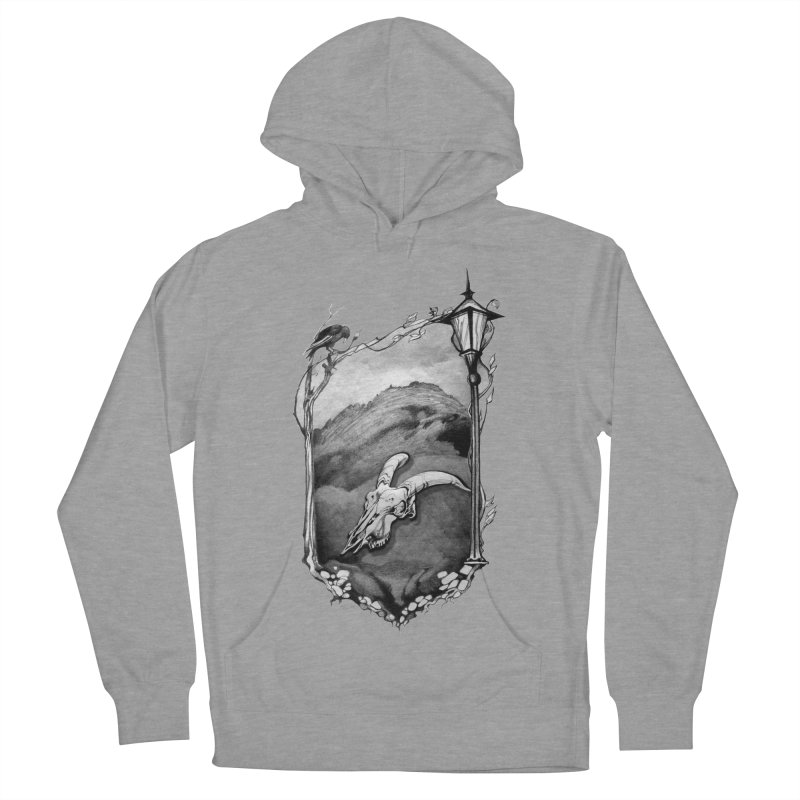 Hello Darkness Women's French Terry Pullover Hoody by Patricia Howitt's Artist Shop