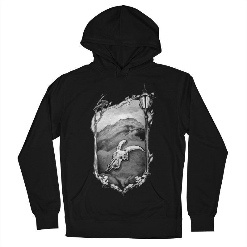 Hello Darkness Men's Pullover Hoody by Patricia Howitt's Artist Shop