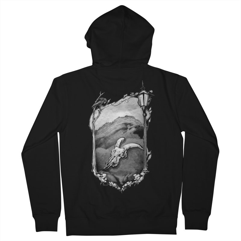 Hello Darkness Women's French Terry Zip-Up Hoody by Patricia Howitt's Artist Shop