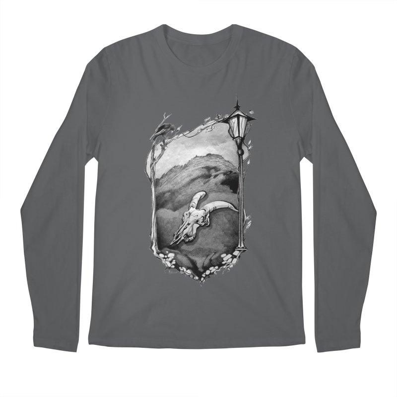 Hello Darkness Men's Longsleeve T-Shirt by Patricia Howitt's Artist Shop