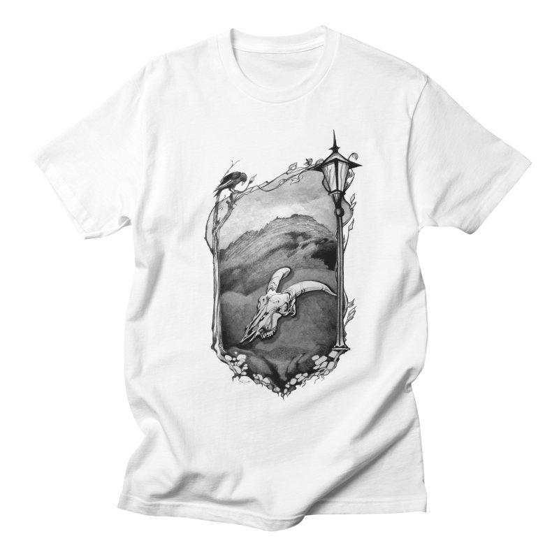 Hello Darkness Men's T-shirt by Patricia Howitt's Artist Shop
