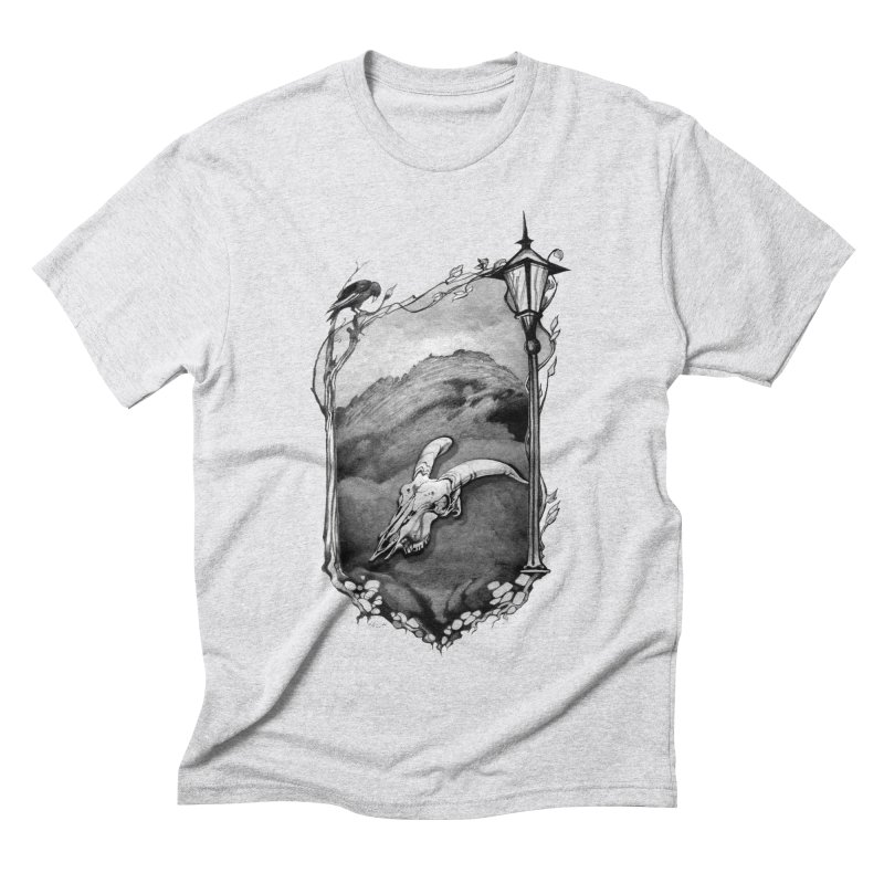 Hello Darkness Men's Triblend T-shirt by Patricia Howitt's Artist Shop