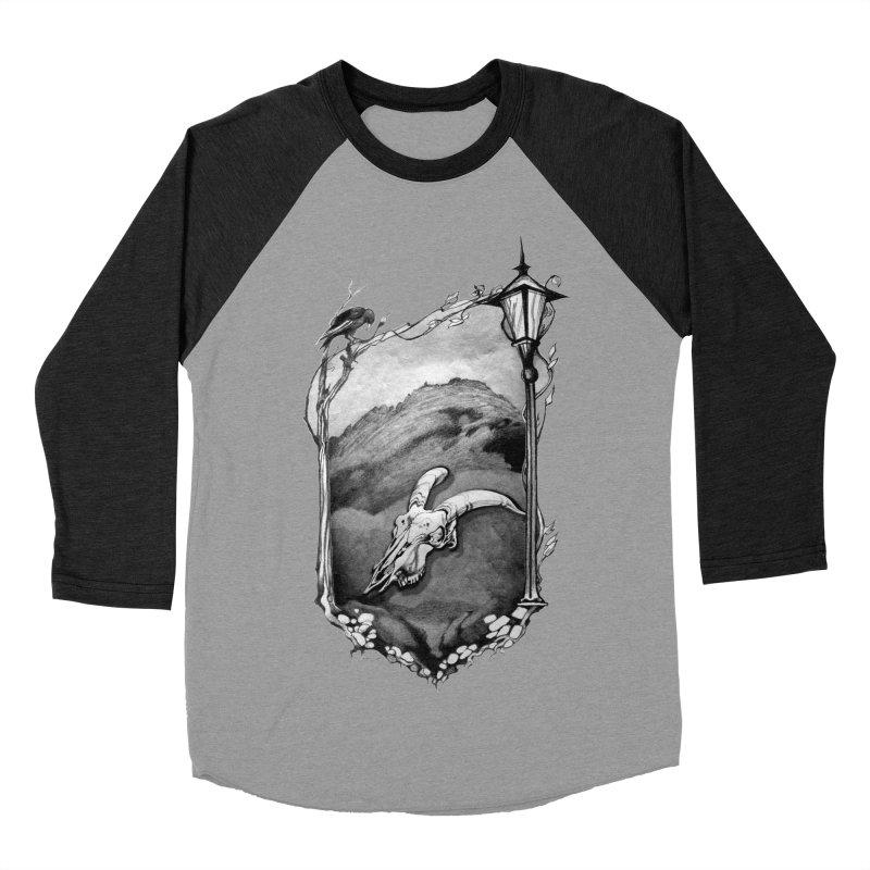Hello Darkness Women's Baseball Triblend T-Shirt by Patricia Howitt's Artist Shop
