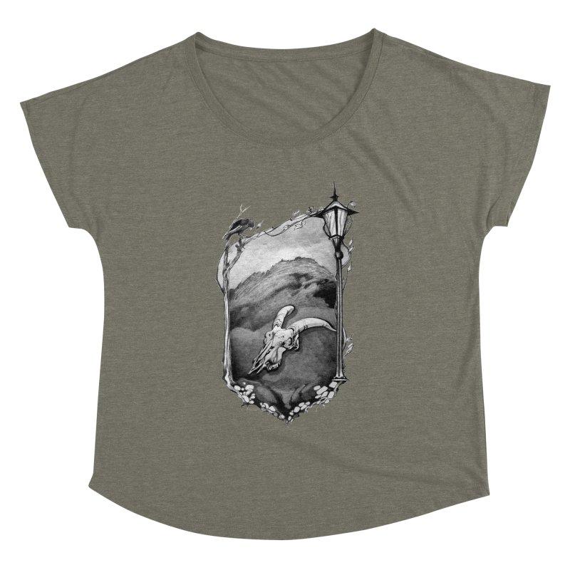Hello Darkness Women's Dolman by Patricia Howitt's Artist Shop