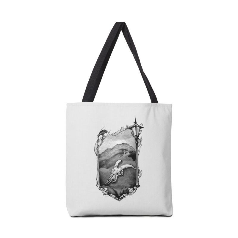 Hello Darkness Accessories Bag by Patricia Howitt's Artist Shop