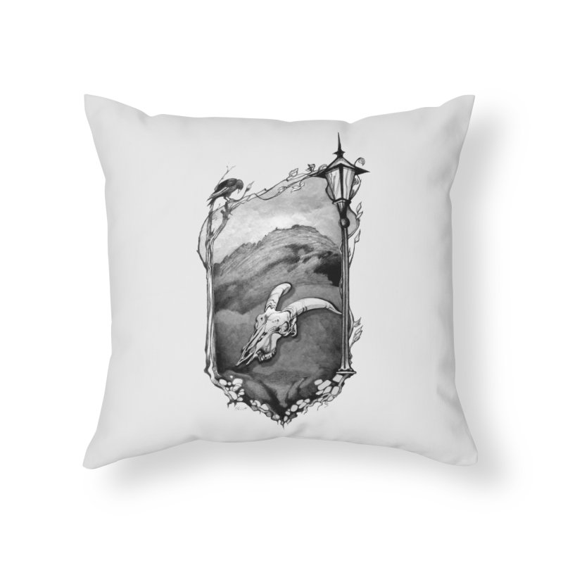 Hello Darkness Home Throw Pillow by Patricia Howitt's Artist Shop