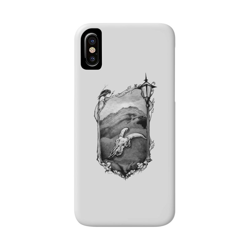 Hello Darkness Accessories Phone Case by Patricia Howitt's Artist Shop