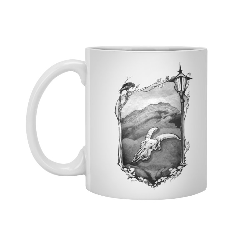 Hello Darkness Accessories Mug by Patricia Howitt's Artist Shop