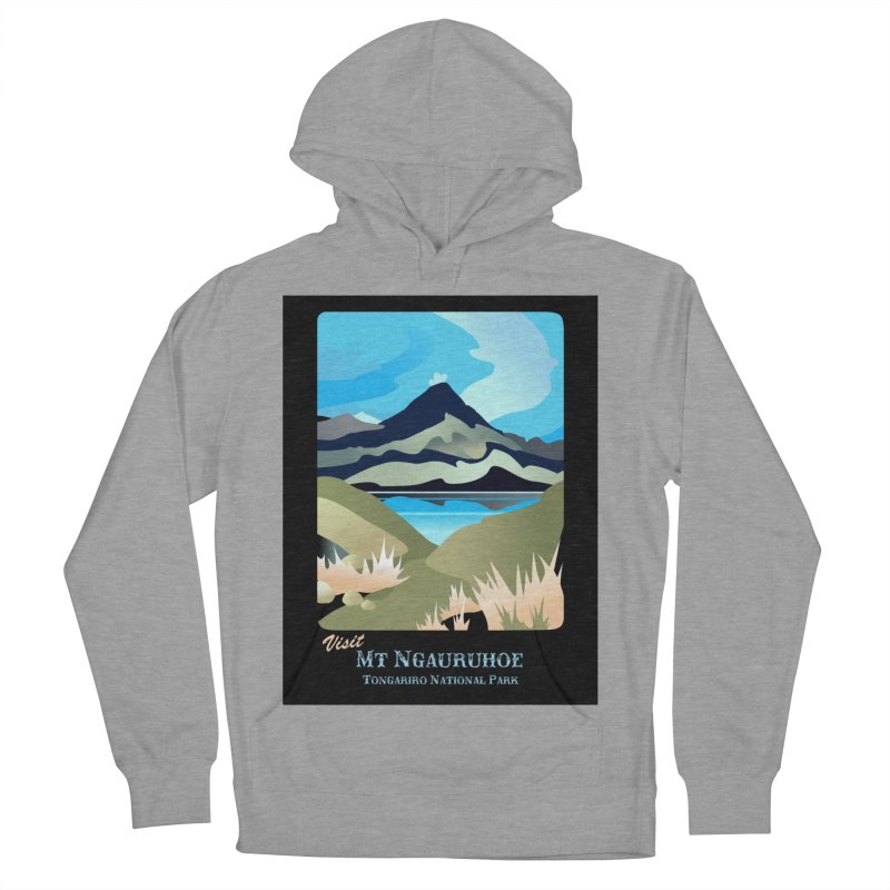 Tama Lakes Magic Women's French Terry Pullover Hoody by Patricia Howitt's Artist Shop