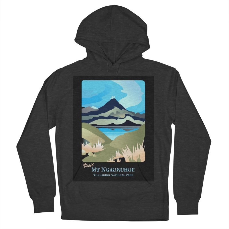 Tama Lakes Magic Men's Pullover Hoody by Patricia Howitt's Artist Shop