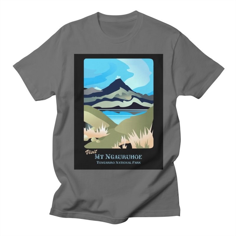 Tama Lakes Magic Men's T-Shirt by Patricia Howitt's Artist Shop
