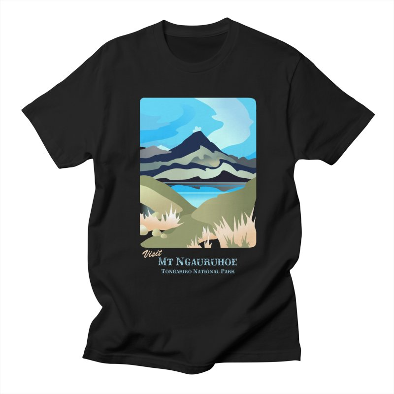Tama Lakes Magic Women's Regular Unisex T-Shirt by Patricia Howitt's Artist Shop