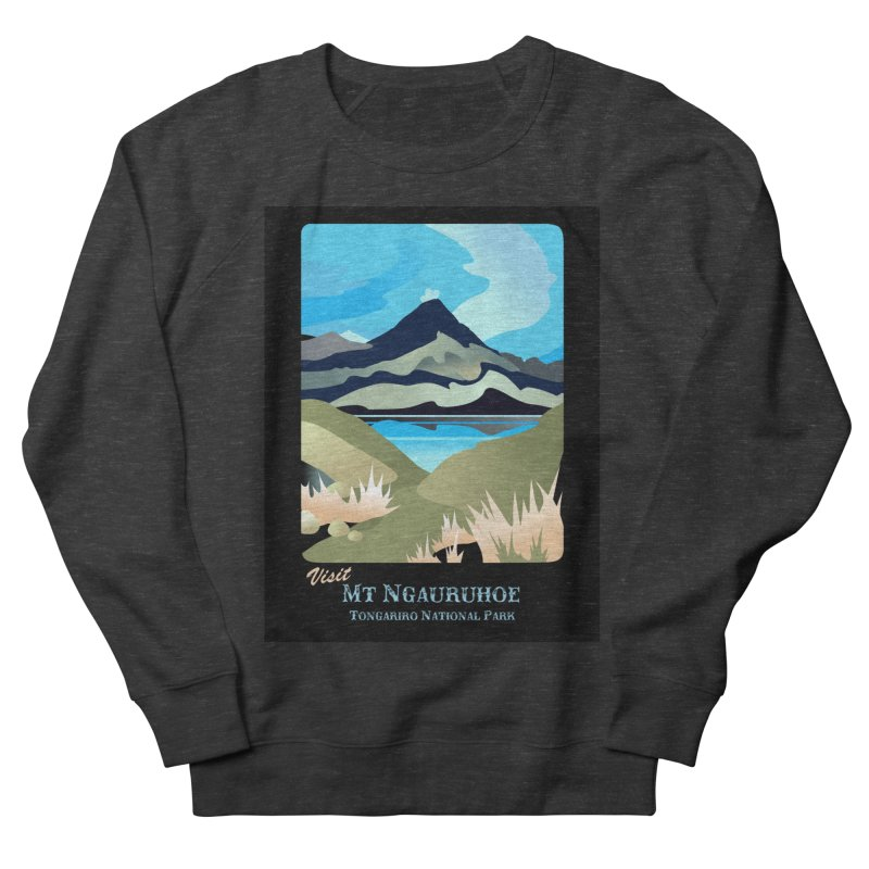 Tama Lakes Magic Women's French Terry Sweatshirt by Patricia Howitt's Artist Shop