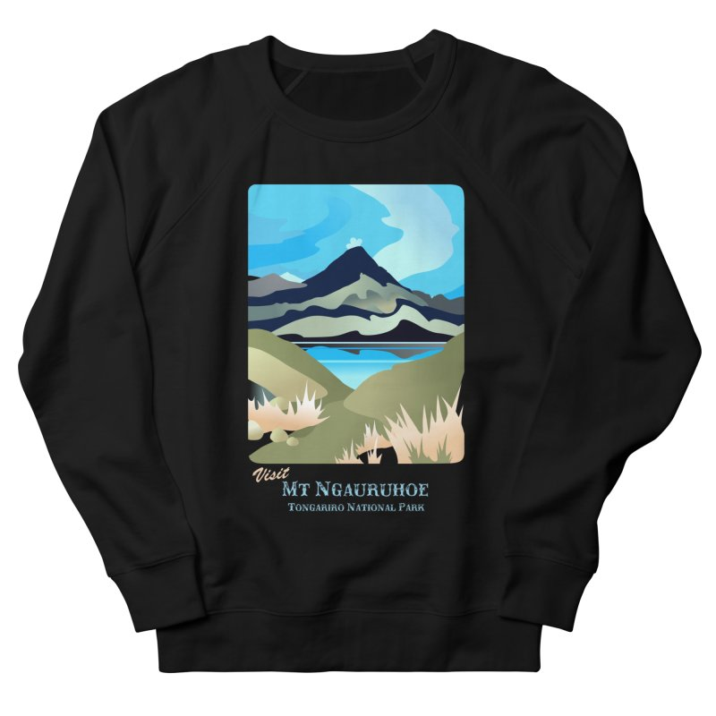 Tama Lakes Magic Men's French Terry Sweatshirt by Patricia Howitt's Artist Shop