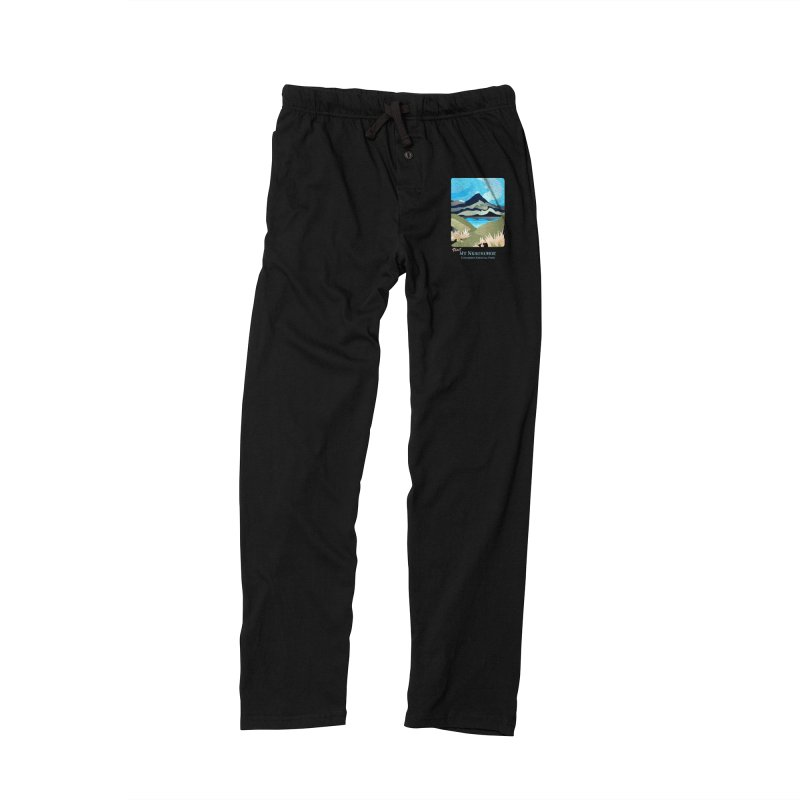 Tama Lakes Magic Men's Lounge Pants by Patricia Howitt's Artist Shop