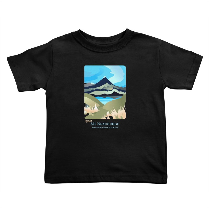Tama Lakes Magic Kids Toddler T-Shirt by Patricia Howitt's Artist Shop