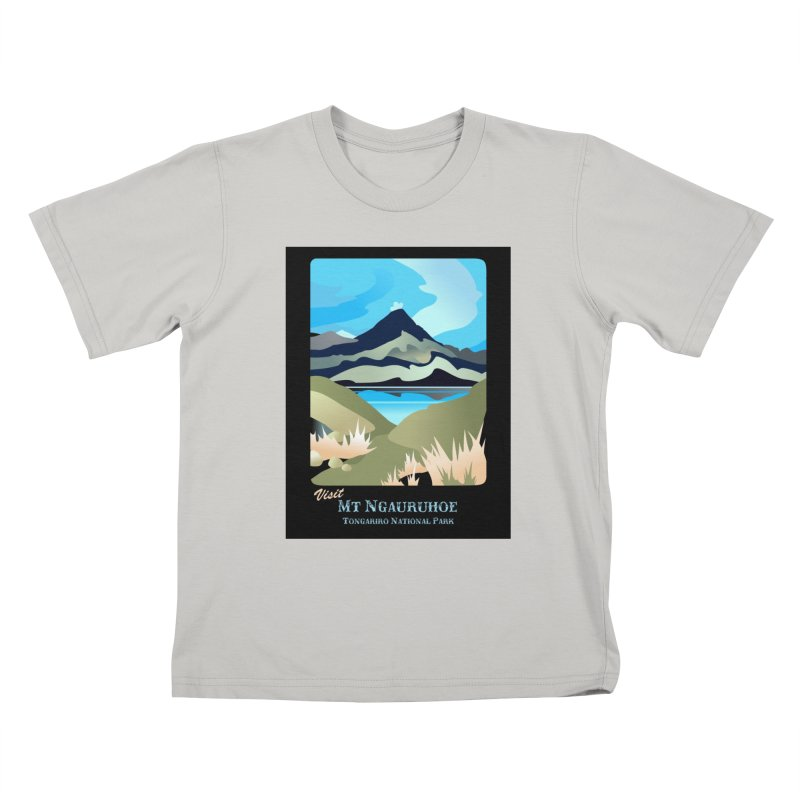 Tama Lakes Magic Kids T-shirt by Patricia Howitt's Artist Shop