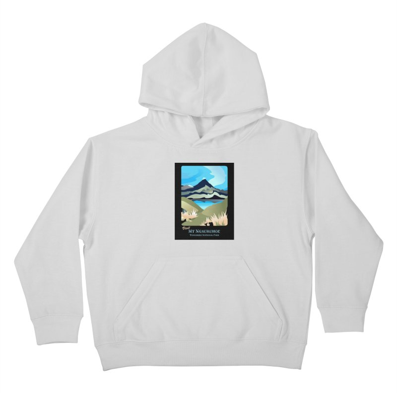 Tama Lakes Magic Kids Pullover Hoody by Patricia Howitt's Artist Shop