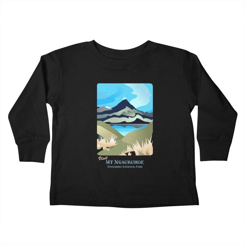 Tama Lakes Magic Kids Toddler Longsleeve T-Shirt by Patricia Howitt's Artist Shop