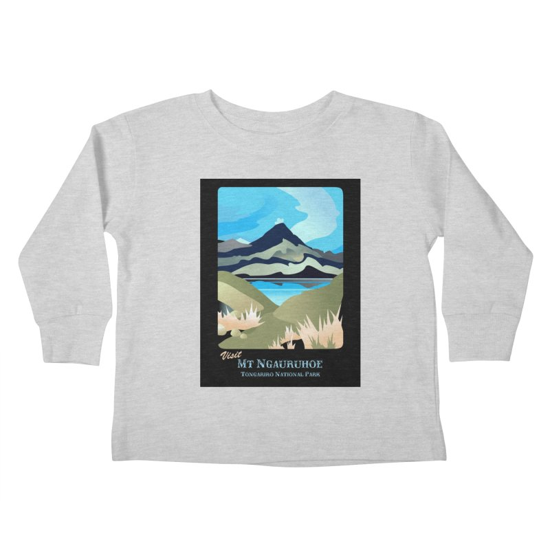 Tama Lakes Magic Kids Toddler Longsleeve T-Shirt by Patricia Howitt's Artist Shop