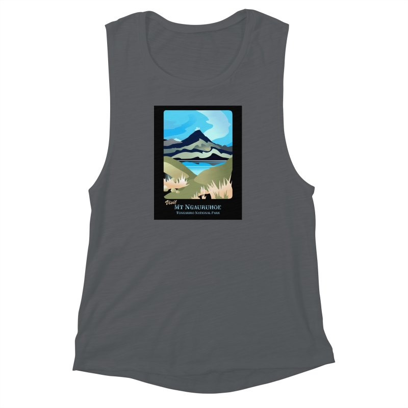 Tama Lakes Magic Women's Muscle Tank by Patricia Howitt's Artist Shop