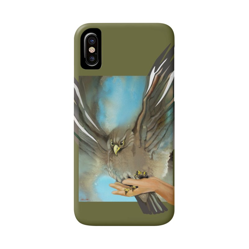 Eagles' Wings Accessories Phone Case by Patricia Howitt's Artist Shop