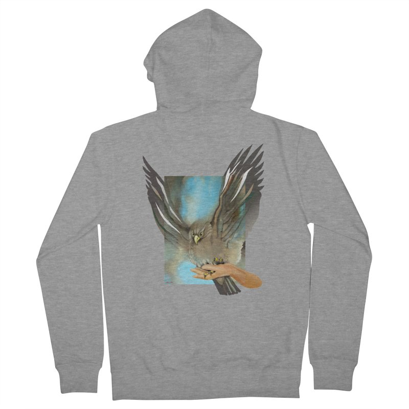 Eagles' Wings Women's Zip-Up Hoody by Patricia Howitt's Artist Shop