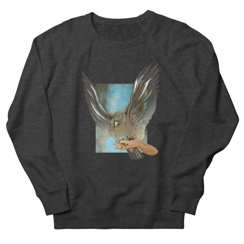 Eagles' Wings Women's Sweatshirt by Patricia Howitt's Artist Shop