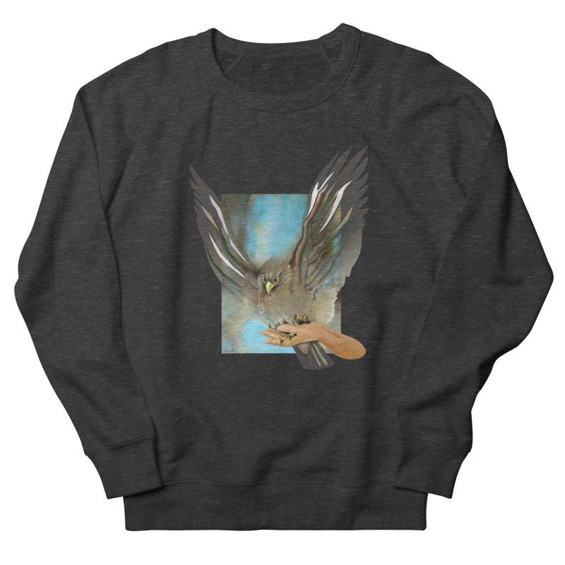 Eagles' Wings Men's Sweatshirt by Patricia Howitt's Artist Shop