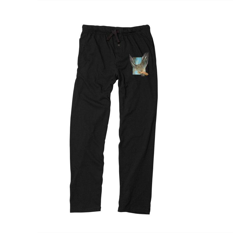 Eagles' Wings Women's Lounge Pants by Patricia Howitt's Artist Shop