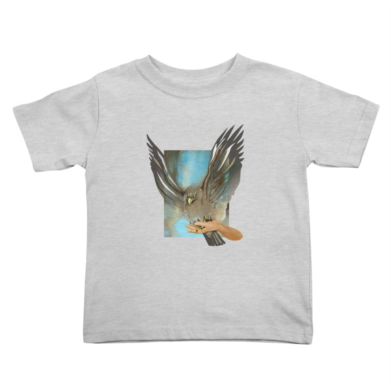 Eagles' Wings Kids Toddler T-Shirt by Patricia Howitt's Artist Shop