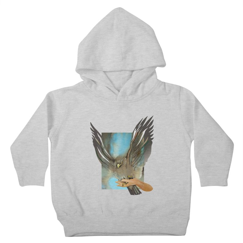 Eagles' Wings Kids Toddler Pullover Hoody by Patricia Howitt's Artist Shop