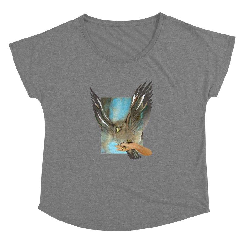 Eagles' Wings Women's Dolman by Patricia Howitt's Artist Shop