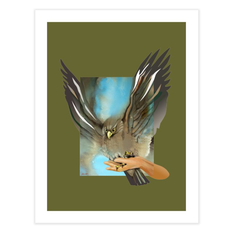Eagles' Wings Home Fine Art Print by Patricia Howitt's Artist Shop