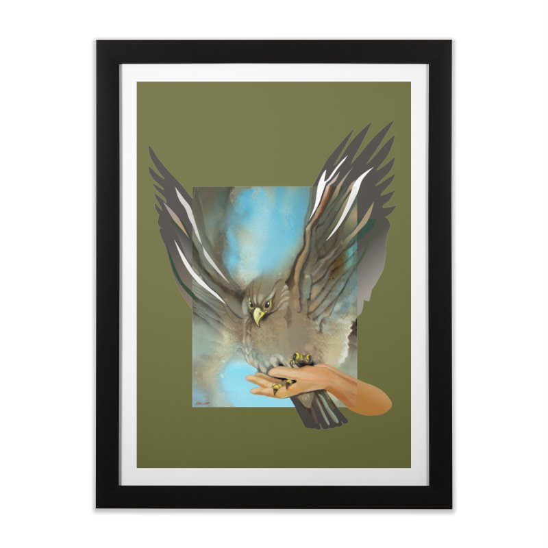 Eagles' Wings Home Framed Fine Art Print by Patricia Howitt's Artist Shop