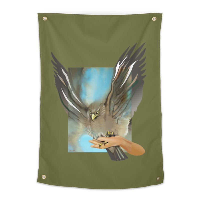 Eagles' Wings Home Tapestry by Patricia Howitt's Artist Shop