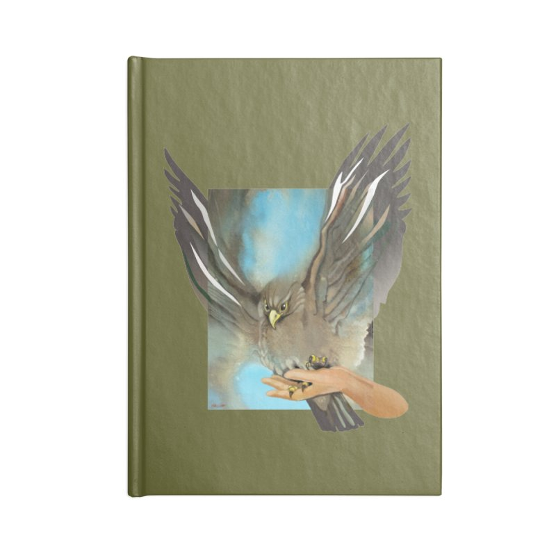 Eagles' Wings Accessories Notebook by Patricia Howitt's Artist Shop