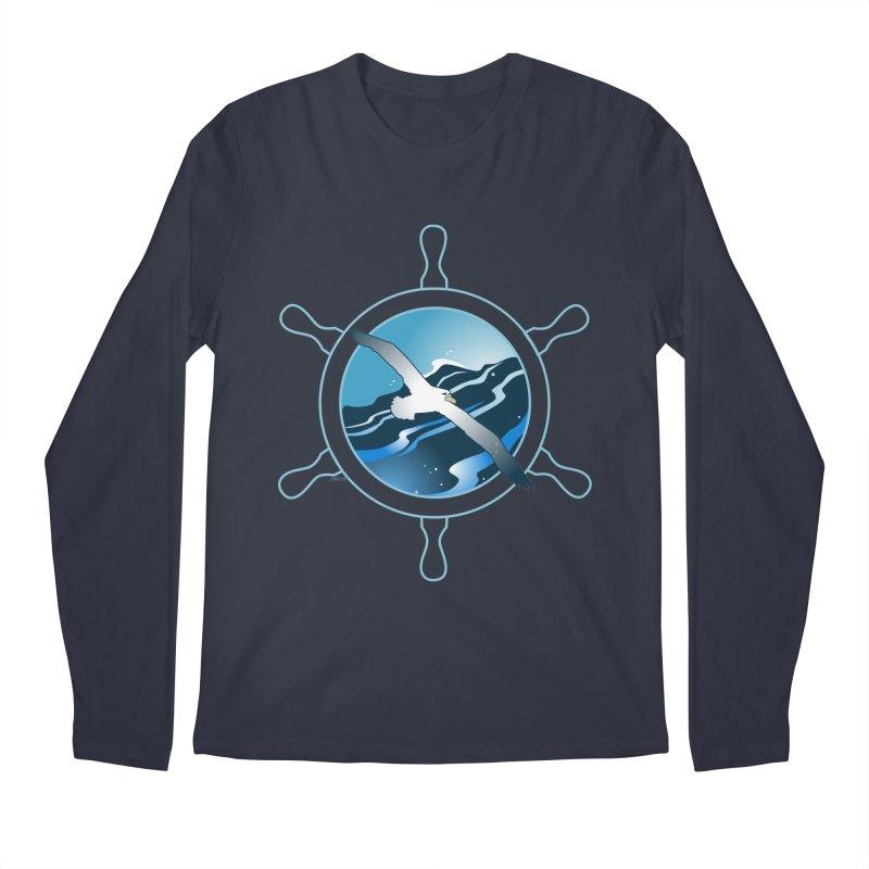Albatross 2 Men's Regular Longsleeve T-Shirt by Patricia Howitt's Artist Shop