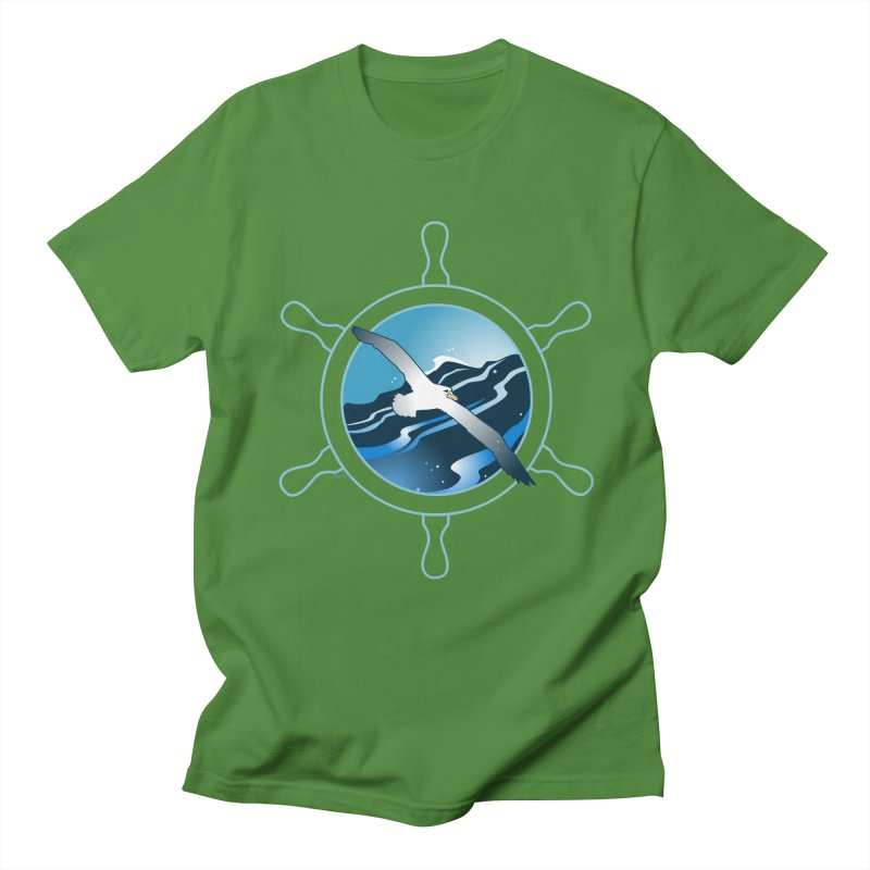 Albatross 2 Men's Regular T-Shirt by Patricia Howitt's Artist Shop
